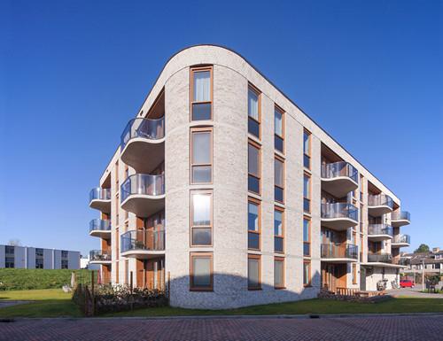 11 Grondgebonden woningen en 29 appartementen